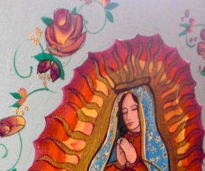 Our Lady of Guadalupe detail 2