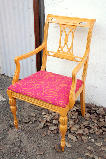 chair refinishing project